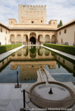 Torre de Comares Alhambra Granada